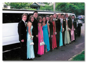 Portland Homecoming Limo