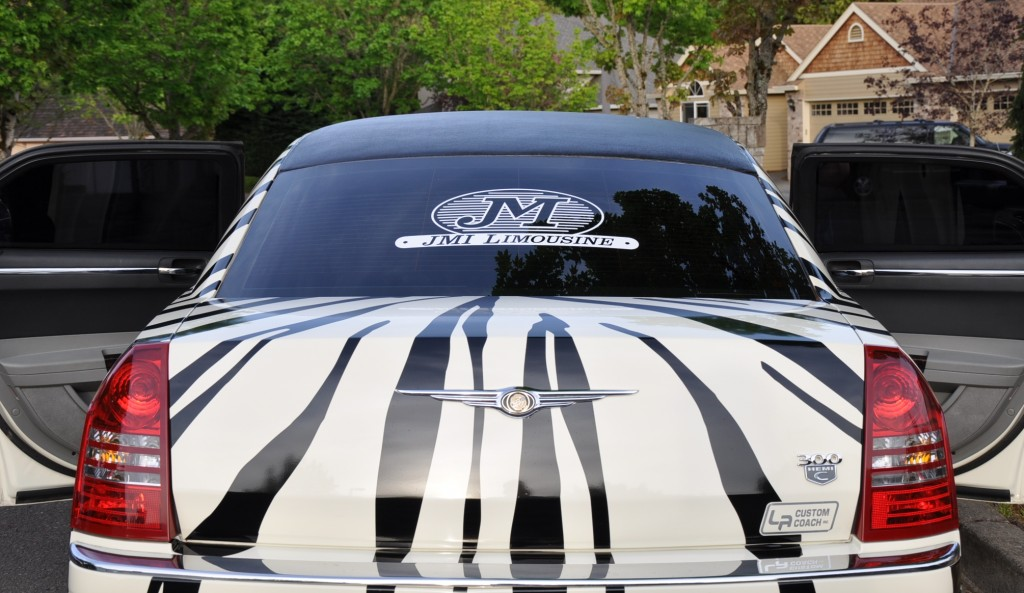 Chrysler 300 Zebra Limo Portland Oregon