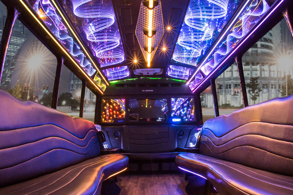 Black Party Bus